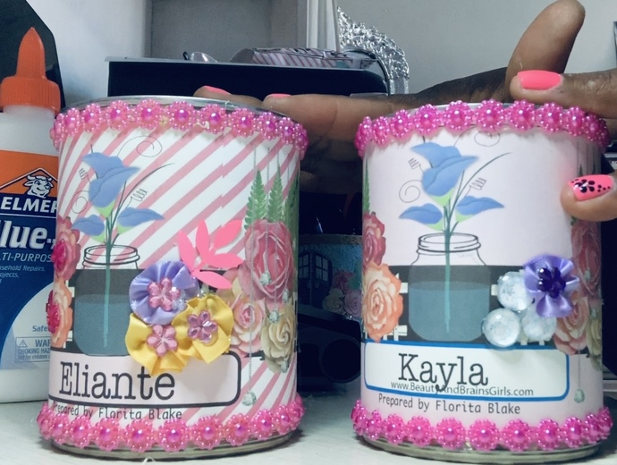 Altered Printable Can-our Order is Attached-Use a Progresso Soup Can-Beauty and