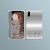 Phone business card, Grey Gradient business card, Makeup Artist Business Card