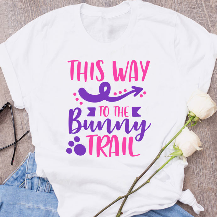This way to the bunny trail,Easter bunny svg,easter rabbit,easter shirt, easter