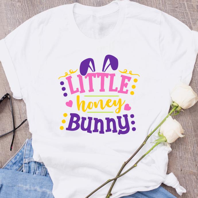 Little honey bunny,Easter bunny svg,easter rabbit,easter shirt, easter svg,