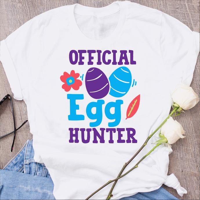 Official egg hunter,Easter bunny svg,easter rabbit,easter shirt, easter svg,