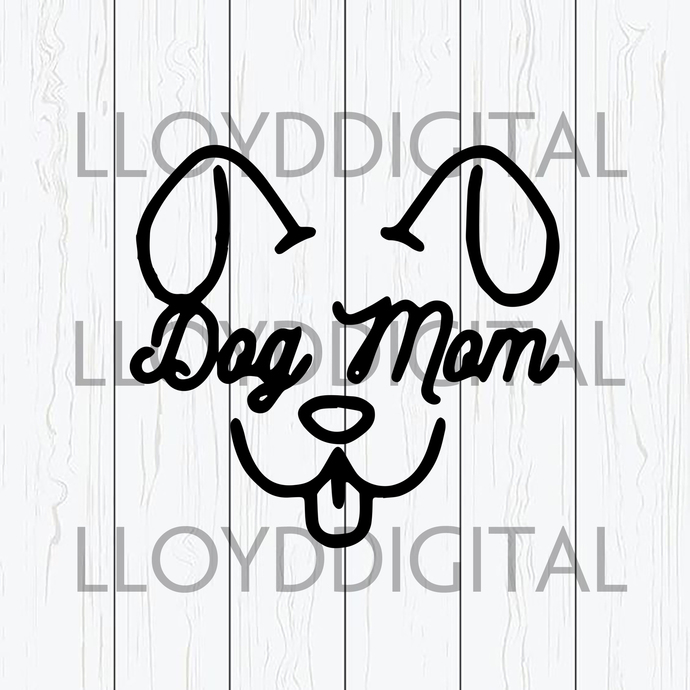 Dog mom svg Funny saying shirt Love dog mom fur mama svg printable gift svg png