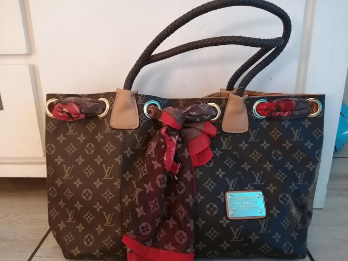 Awesome large Louis Vuitton inspired tote