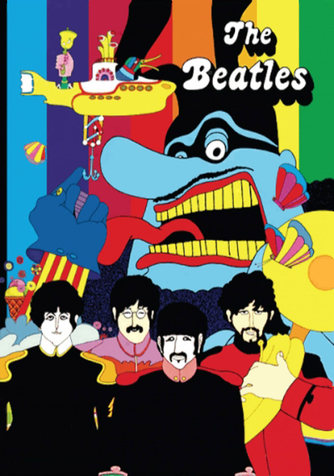 Beatles Yellow Submarine Cross Stitch Pattern***LOOK***X***INSTANT DOWNLOAD***