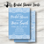 Something Blue w/ Lace Bridal Shower Invite- Printed or Digital