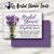 Lavender and Wood Bridal Shower Invite- Printed or Digital