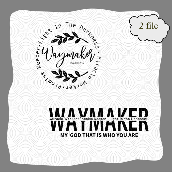 Waymaker Svg Miracle Worker Promise Keeper My By Digital4u On