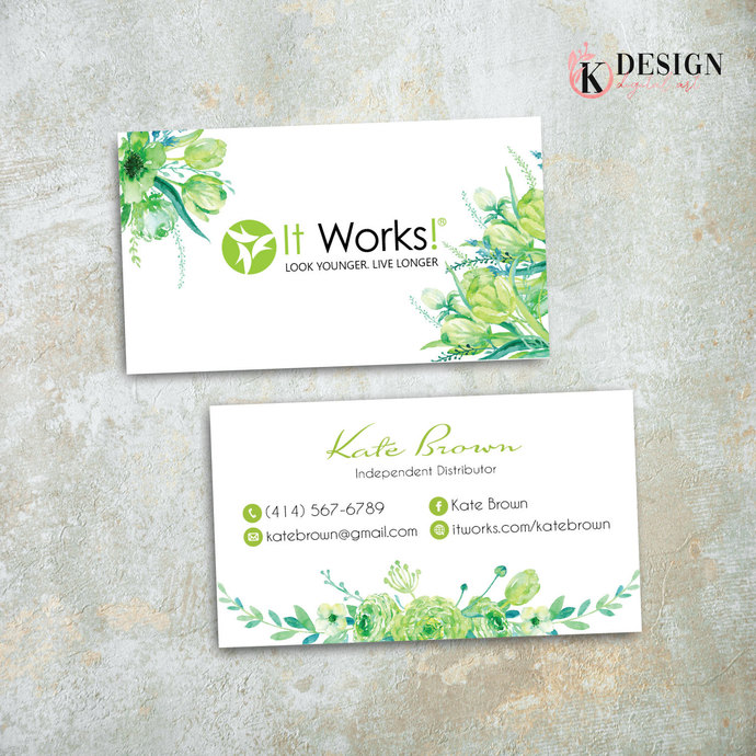 It Works Business Cards, It Works Global Cards, It Works Products IW11