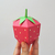 DIY Papercraft Strawberry,Papercraft fruit,Paper toy,Party decoration,Papercraft