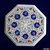 Marble Coffee Outdoor Kitchen Table Top Lapis Lazuli Turquoise Inlay Floral Arts