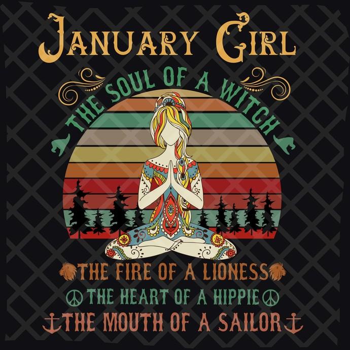 January Girl Svg, Girl Born In January Svg, Queens Born In January Svg, Queens