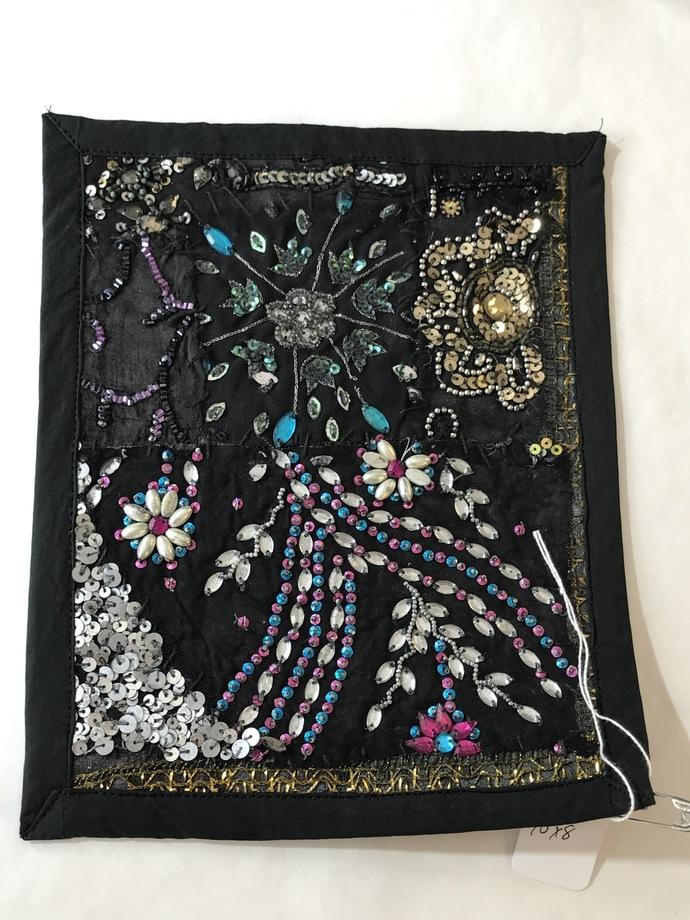 "8"" X 10"" Boho Gypsy Journal Cover Kit (BK06) 8"" X 10"" BLACK"