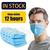 50pcs Disposable Medical face mask Non Woven Anti-dust mouth masks Safe