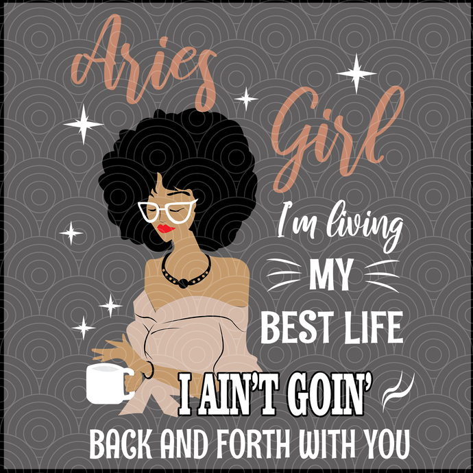Aries Girl Svg, Aries For Girls Svg, Girls Aries Svg, Aquarius Svg, Women's