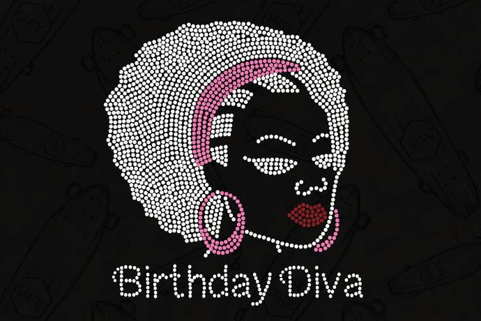 Birthday Diva Svg, Birthday For Girls Svg, Girl Birthday Svg, Queen Birthday