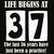 Life Begins At 37 Svg, Happy Birthday 37th Svg, 37 Years Old Svg, 37th Birthday
