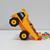 DIY printable Dump truck,papercraft truck,Dump truck favor,gift box,Candy