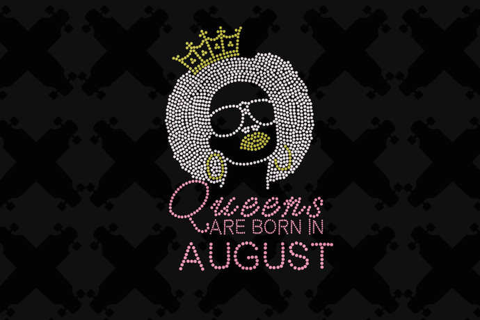 Queens are Born In August Svg, Queen Born In August Svg, August Girl Svg, born