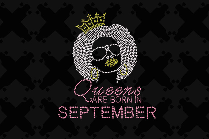 Queens are Born In September Svg, Queen Born In September Svg, September Girl