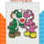 Yoshi in Lovet, Mini C2C, Adult Throw, Graph and written block instructions