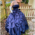 Chic dark blue satin long prom gown evening dress,F536