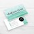 Watercolor Chalk Couture Business Cards, Chalk Couture Independent Designer CC03