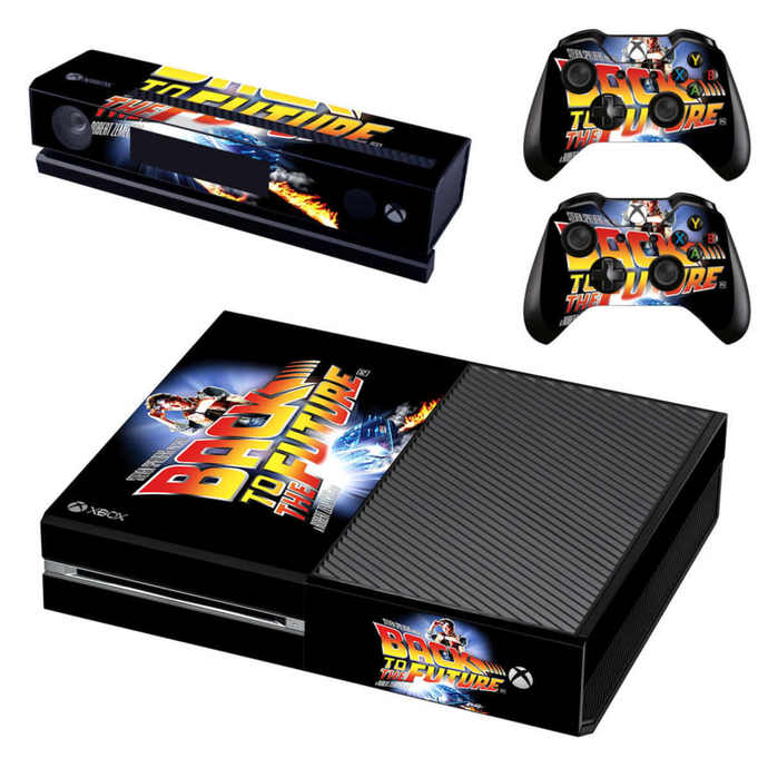 Back to the future xbox one skin