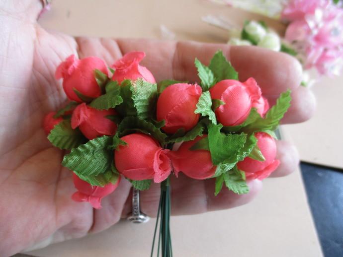 12 x Bell Flowers - Please choose your colour - SALE