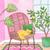 Napping Under the Lemon Tree Original Cat Folk Art Gouache Painting