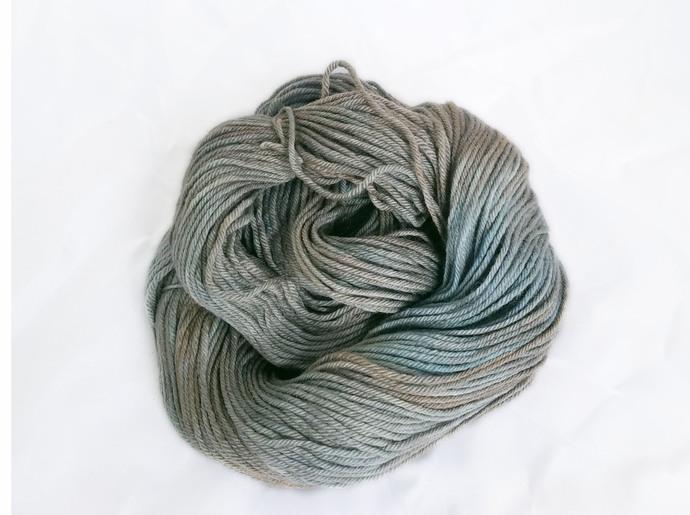Hand dyed worsted merino yarn - Bog Monster