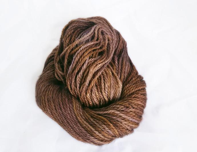 Merino SW bulky yarn - Big Nut Brown Hare