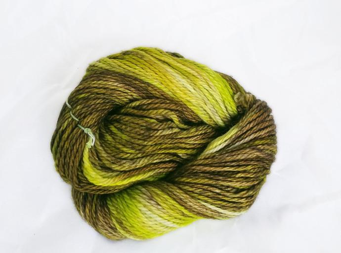 Merino SW bulky yarn - Froggy Bottom