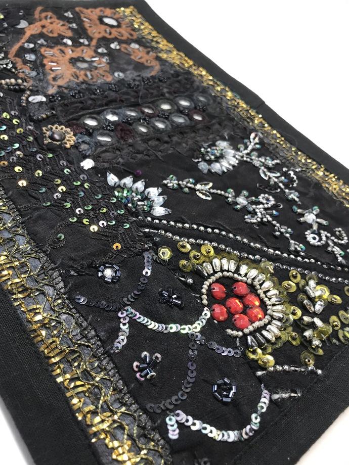 "9"" X 12"" Boho Gypsy Journal Cover Kit (BK6) BLACK"
