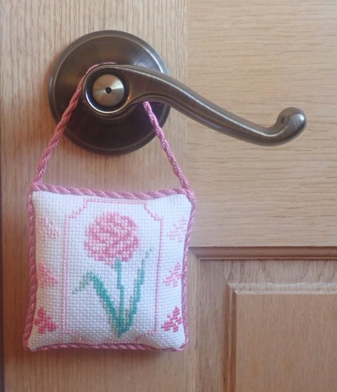 """Rose & Tiny Butterflies Ornallows Small Pillow (3.5"""" X 3.5"""")"""