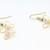 Pink Cat-eye Wire-wrapped Earrings Handmade Wirewrapped Jewelry