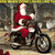 MotorCycle Santa Visits The Reindeer Cross Stitch Pattern***LOOK***X***INSTANT