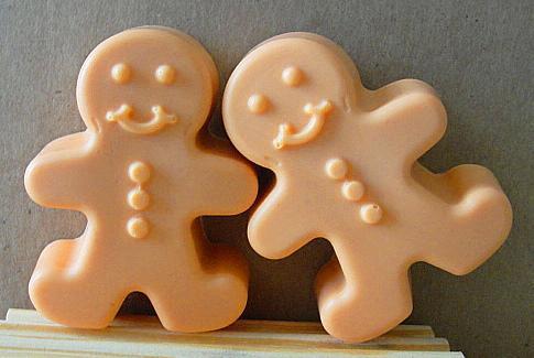 GINGERBREAD Pumpkin  Couple STOCKING Stuffers