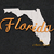 Machine Embroidery Design Florida State USA Designs instant digital download