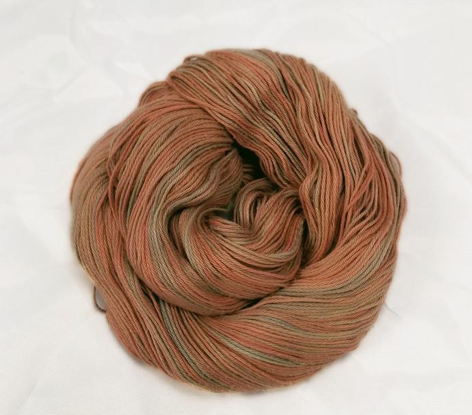Cotton fingering yarn - Brick House* (A)