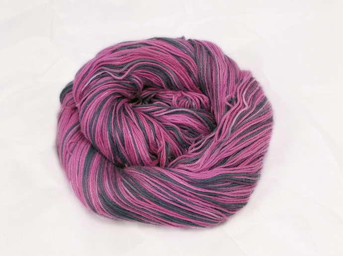 Cotton fingering yarn - Girly Girl
