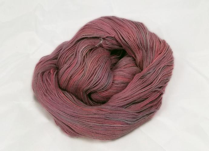 Cotton fingering yarn - Brick House* (B)