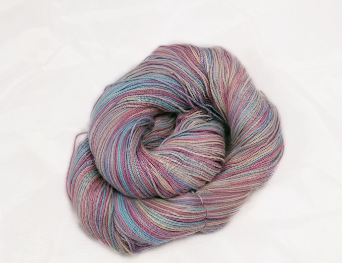 Cotton fingering yarn - Faberge