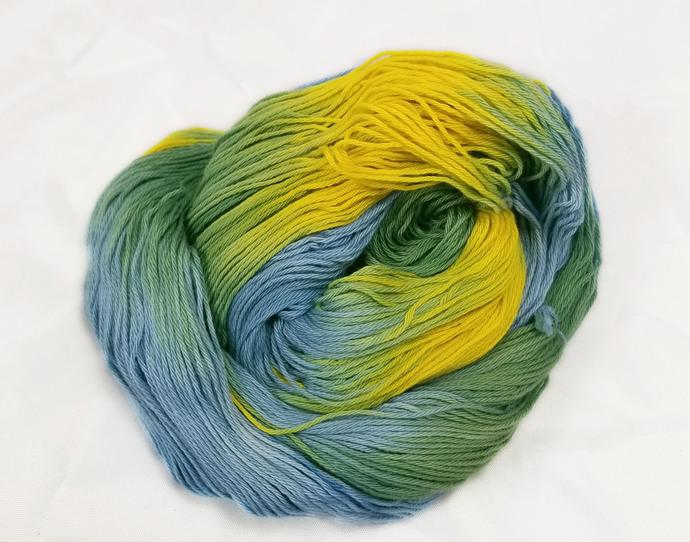 Cotton fingering yarn - Perennial