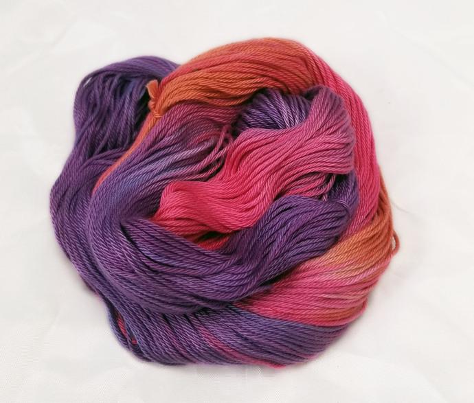Cotton DK yarn - Prehistoric Sunrise