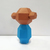 DIY Papercraft Kokeshi doll,low poly Papercraft doll,kokeshi Vintage