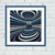 Striped illusion geometric cross stitch pattern