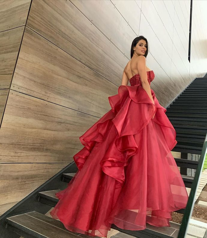 Sexy Elegant A-Line Prom Dresses,Long Prom Dresses,Cheap Prom Dresses, Evening
