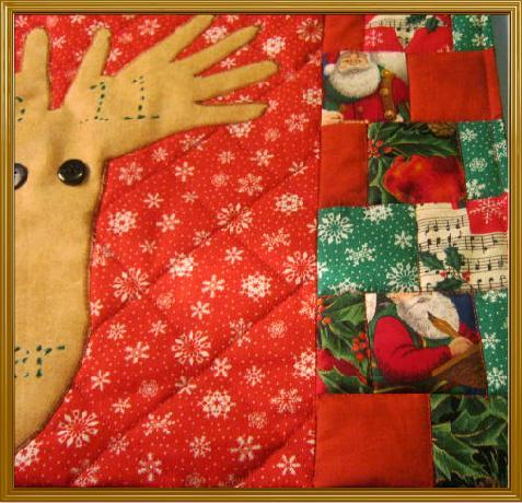 My Hands Reindeer Placemat