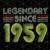 Legendary since 1959, born in 1959, 1959 svg, 61st birthday gift, 61st birthday