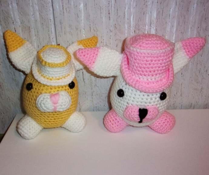 bunny amigurumi Crochet amigurumi rabbit plush bunny rabbit ... | 577x690